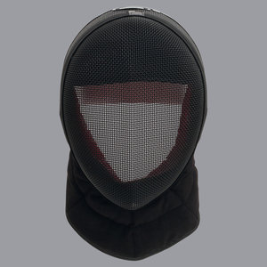 FIE-fencing mask INOX 1600N with black bib